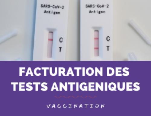 Les tests antigéniques disponibles dans Winpharma