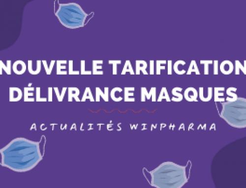 Nouvelle tarification délivrance masques