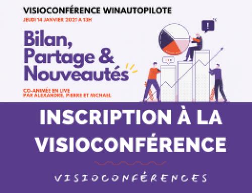 Inscription à la visioconférence du 14 Janvier 2021